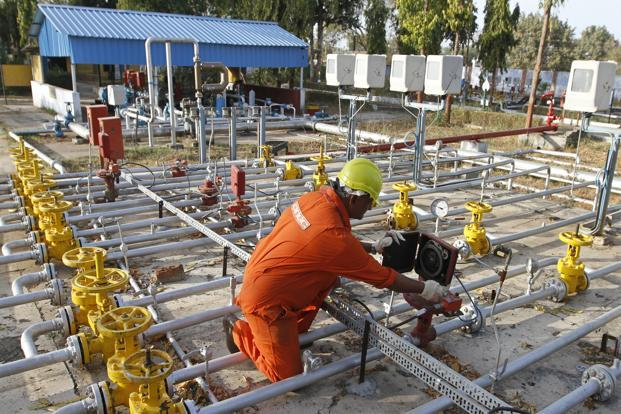Analysts at JM Financial expect FY15 gas earnings for RIL, ONGC and OIL to increase by 8%, 25% and 32%, respectively. Photo: Amit Dave/Reuters