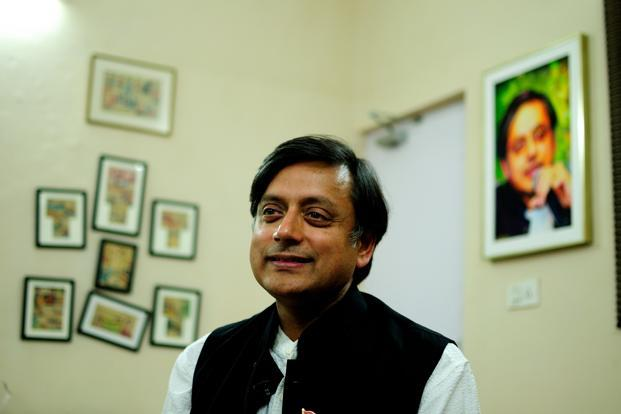 Shashi Tharoor has been getting into trouble because of his ignorance about Indian laws and regulations. Photo: Pradeep Gaur/Mint