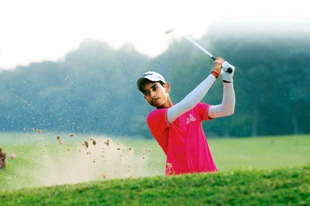 Rashid Khan at the Tollygunge Club golf course in Kolkata. Photo: Indranil Bhoumik/Mint