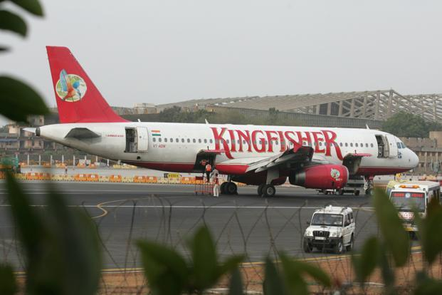 Kingfisher Airlines has pledged assets ranging from its brand to office furniture, for `7,500 crore against bank loans. Photo: Hindustan Times (Hindustan Times)