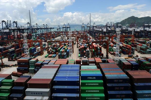 China's trade volume, or the total of exports and imports, grew 6.2% in 2012, well below the government target of about 10%. Photo: AFP