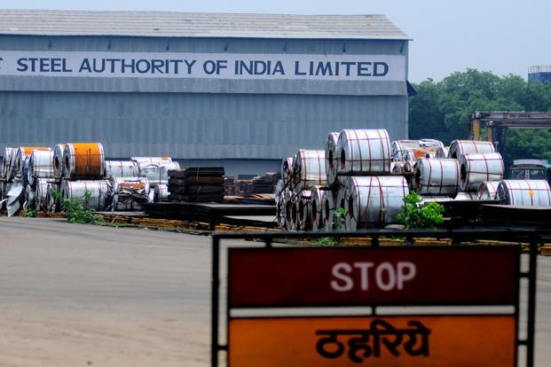Swelling global supply and Europe's slumping demand have undercut prices, adding to the improving outlook for steelmakers, which jumped an average 11% in December. Photo: Priyanka Parashar/Mint