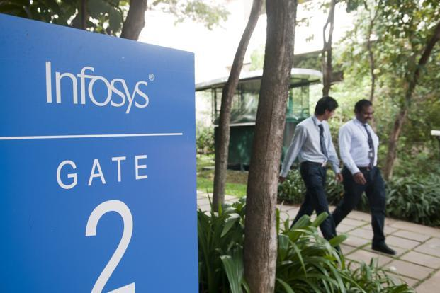 Infosys has maintained its organic revenue growth guidance for financial year 2012-13 at the 5% level it had indicated three months ago. Most analysts had expected the company to lower guidance by 1-1.5%. Photo: Aniruddha Chowdhury/Mint