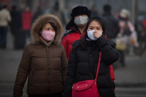 According to the Beijing Municipal Environmental Monitoring Center, the density of PM2.5 particulates (particles less than 2.5 micrometers in diameter) had surpassed 700 micrograms per cubic meter in many parts of the city. AFP