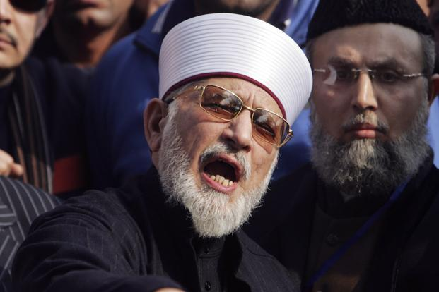 Qadri's calls have divided Pakistanis. While some see him as a reformist champion, others see him as a potential stooge for the military. Photo: Mohsin Raza/Reuters