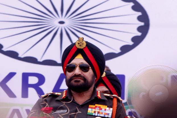 A file photo of India's Army chief General Bikram Singh. Photo: HT