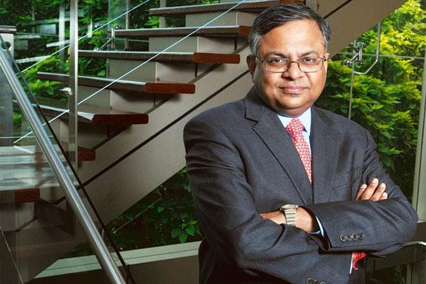 The rupee at `54 a dollar is not sustainable and has to appreciate, says TCS's N. Chandrasekaran. Photo: Abhijit Bhatlekar/Mint