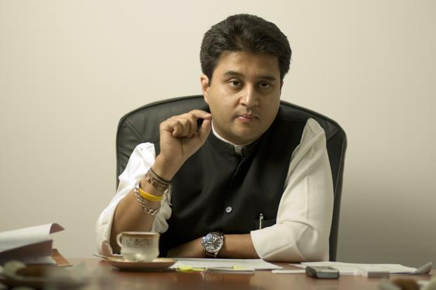 Power minister Jyotiraditya Scindia has also sought dilutions in FRA norms for construction of power transmission lines. Photo: Mint