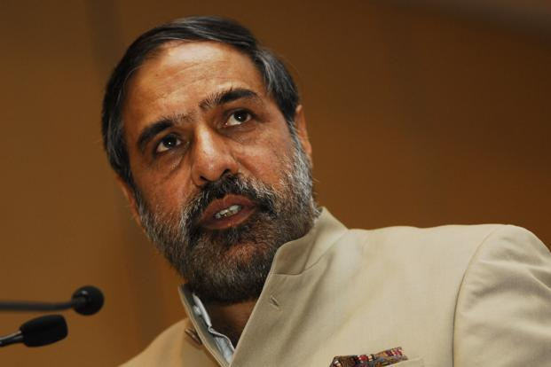 Anand Sharma. Photo: Satish Kaushik/Mint