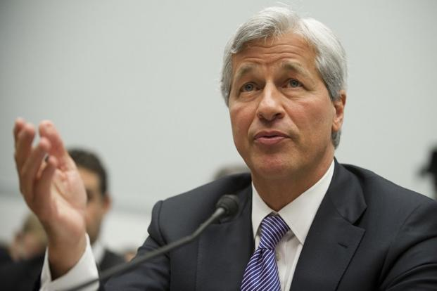 A file photo of JPMorgan Chase chairman and CEO Jamie Dimon . Photo: Saul Loeb/AFP