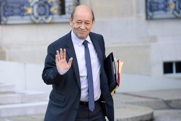 French Defence minister, Jean-Yves Le Drian. Photo: Bertrand Guay/AFP