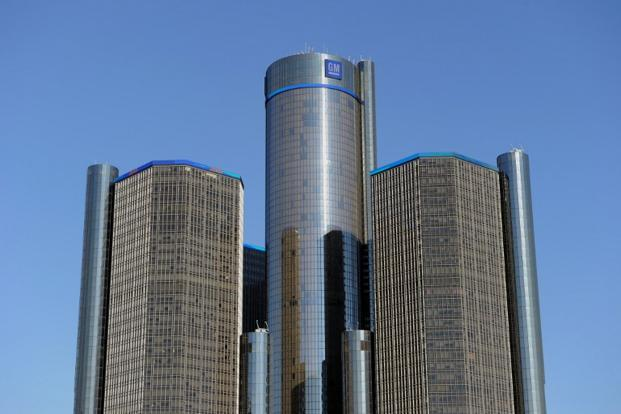 The General Motors headquarters in Detroit, Michigan. Photo: AFP