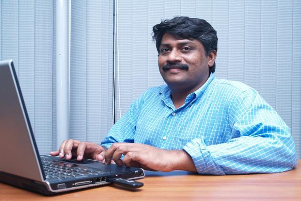 A file photo of Perfint CEO Nandakumar S.