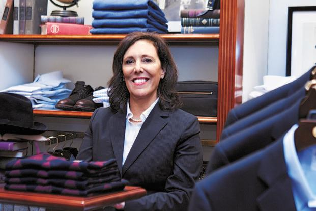 Paulette Garafalo, Brooks Brothers' president (international, wholesale and manufacturing). Photo: Ramesh Pathania/Mint