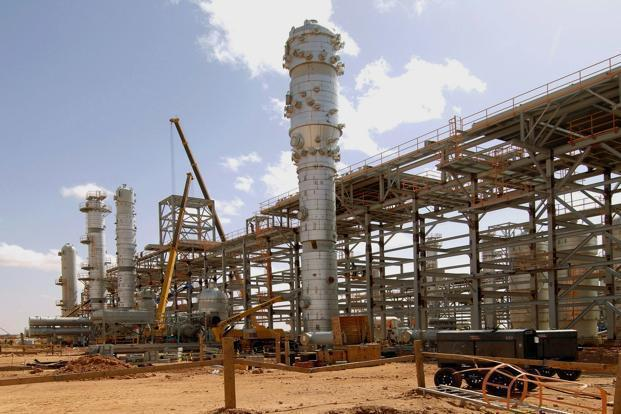 A file photo of the In Amenas gas field, where Islamist militants raided and took hostages on 16 January. Photo: AFP