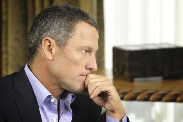 Not in that generation. I didn't invent the culture, but I didn't try to stop the culture, Lance Armstrong said. Photo: Reuters