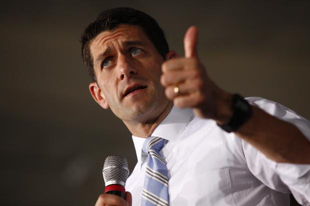 US House of Representatives budget committee chairman Paul Ryan did not specify how large the debt ceiling extension would be and how long it would last given the current budget deficit. Photo: Reuters