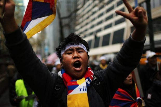 Around 100 Tibetan monks, nuns and lay people have set themselves on fire since 2009, calling for Beijing to allow greater religious freedom and the return from exile of the Tibetan spiritual leader, the Dalai Lama. Photo: AFP