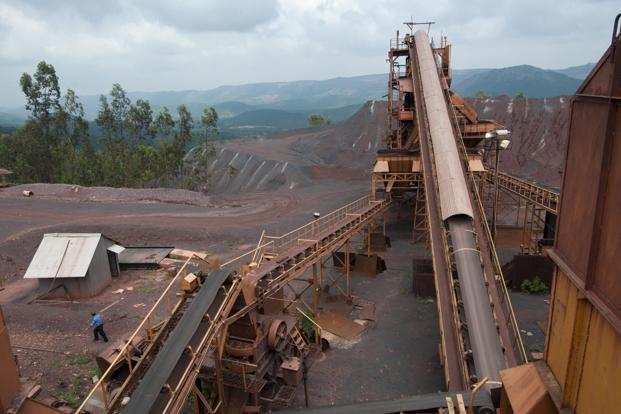 Indian authorities have been cracking down on chaotic and illegal iron ore production in Goa—one of the country's biggest suppliers—imposing a blanket ban on all mining activities last October. Photo: Aniruddha Chowdhury/Mint