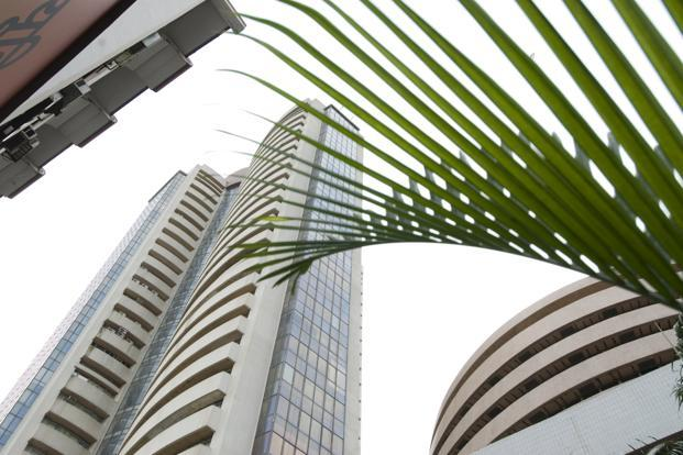 A file photo of the BSE building in Mumbai. Stringent cost controls in the face of India's slowing economic growth and a fall in commodity prices helped most Indian companies that have reported quarterly earnings to beat analysts' estimates. Photo: Mint