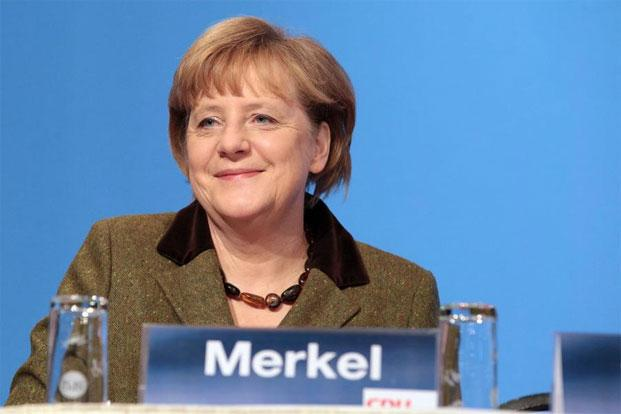 German Chancellor Angela Merkel hopes a victory for the centre-right in Lower Saxony, an industrial and farming heartland, would give her re-election campaign a boost ahead of the September federal vote. Photo: AFP