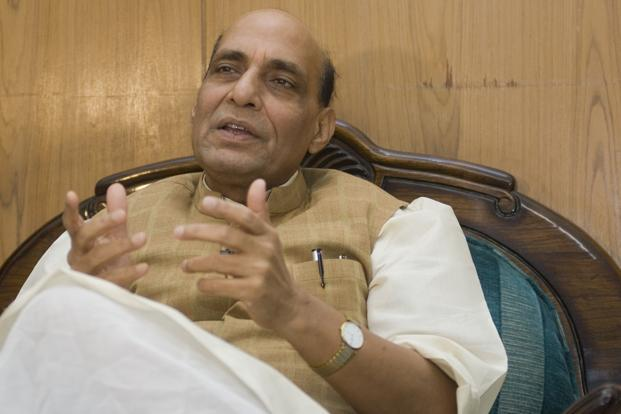 BJP leader Rajnath Singh. Photo: Ramesh Pathania/Mint