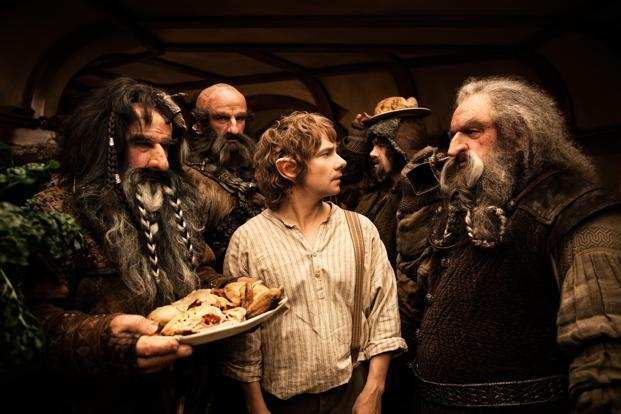 A still from 'Hobbit: An Unexpected Journey'