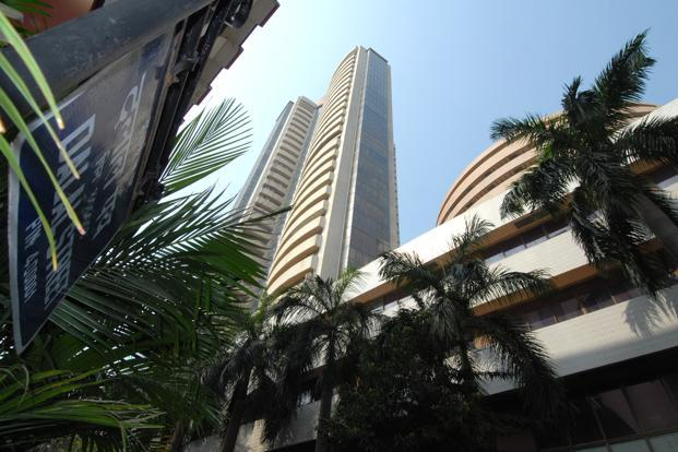 A file photo of the Bombay Stock Exchange. Shares of Hindustan Unilever slumped after the company posted disappointing volumes growth, while those of Cairn India were hit by worries about a slower production ramp-up in a key block. Photo: Hemant Mishra/Mint