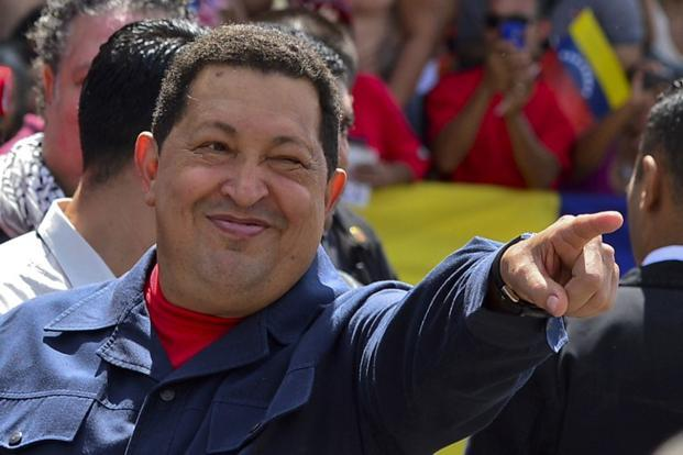 A file photo of Venezuelan President Hugo Chavez. Photo: AFP