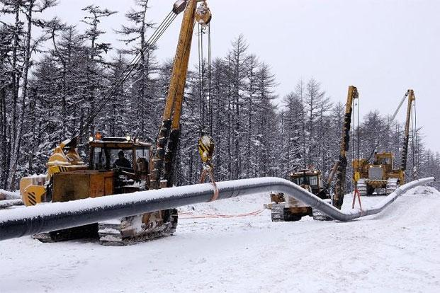 A file photo of a gas pipeline. The TAPI pipeline will have a capacity to carry 90 mmscmd gas for a 30-year period. It will come into operation in 2018.