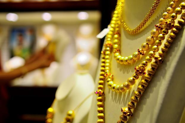 A file photo of a jewellery showroom in New Delhi. Photo: Priyanka Parashar/Mint