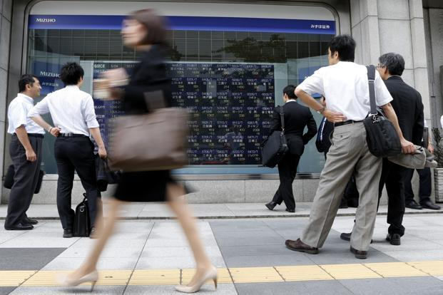 Bank of Japan moves were in line with expectations, which have seen the yen tumble against the dollar and euro, in turn, sending equities flying higher. Photo: Reuters