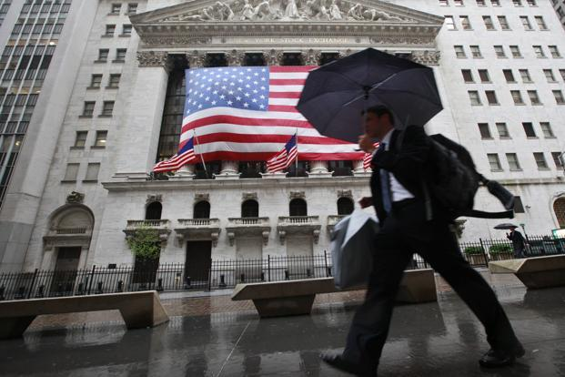 A file photo of New York Stock Exchange. Photo: Reuters