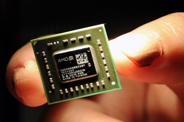 AMD shares rose 1.2% in extended trading after the company's fourth-quarter results beat expectations. Photo: AFP
