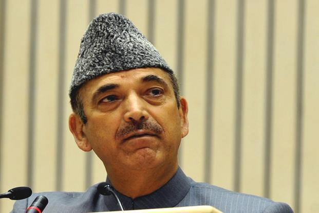 A file photo of  Union health minister Ghulam Nabi Azad. Photo: PIB