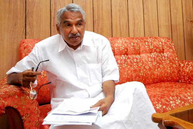 Kerala chief minister Oommen Chandy. The increase in diesel price has forced the Kerala State Transport Corporation (KSRTC) to cut down many of its regular services, leading to protest from various sections of the society. Photo: Vivek Nair/Mint