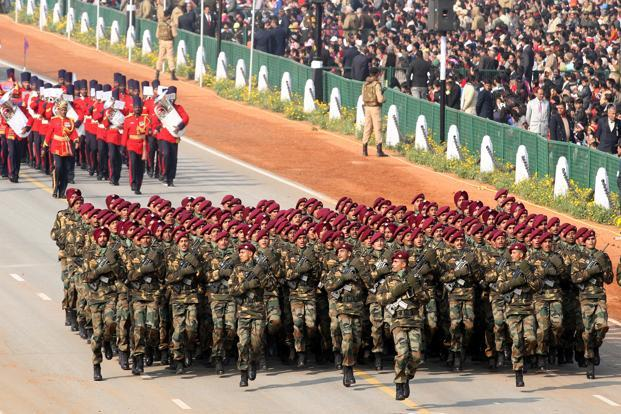 A file photo of Republic Day parade in New Delhi. Photo: Hindustan Times