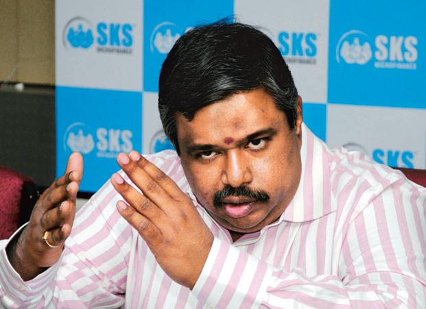 A file photo of SKS chief financial officer Dilli Raj. Photo: Mint