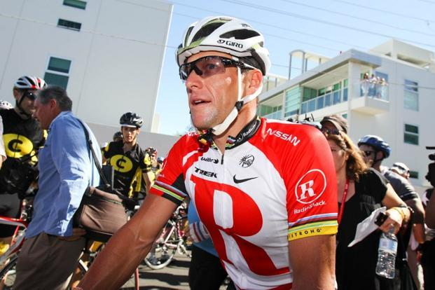 A file photo of Lance Armstrong. Photo: Mark Gunter/AFP.