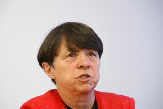 A file photo of Mary Jo White. Photo: Reuters
