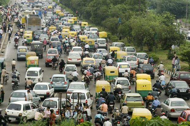 Traffic in the big Indian cities has become so bad that drivers are prepared to pay more for something that reduces fatigue, dealers and experts say. Photo: Ramesh Pathania/Mint
