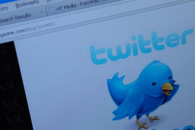 A file photo of a Twitter page. Photo: Satish Kaushik/Mint