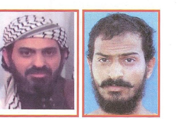 File photos of Al Qaeda's Saeed al-Shehri released by the Yemeni interior ministry. Shehri had been hounded by Yemen's security forces and survived a number of attempts on his life. Photo: AFP