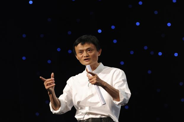 A 2011 photo of founder and chairman of Alibaba Group Jack Ma in Hangzhou, Zhejiang province. The newspaper, Beijing News, reported that the logistics network will be able to support annual online sales of 10 trillion yuan. Photo: Reuters