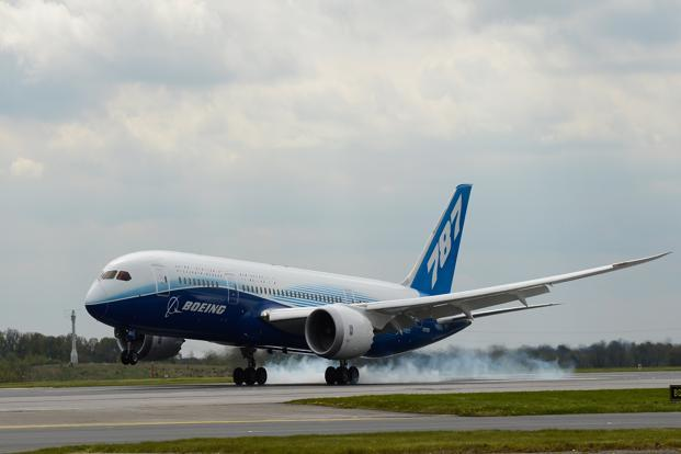 A file photo of Boeing Dreamliner 787. Photo: Christopher Furlong/Getty Images