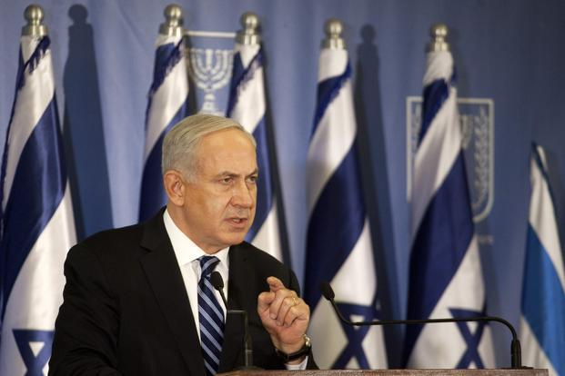A file photo of Israel's Prime Minister Benjamin Netanyahu. Photo: Reuters.