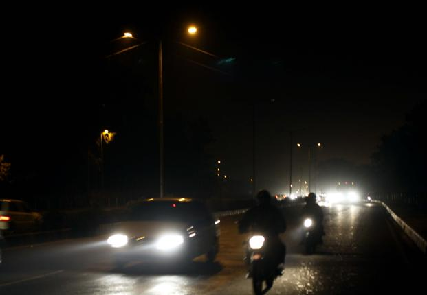 bankrupt municipal bodies unable to provide street lighting
