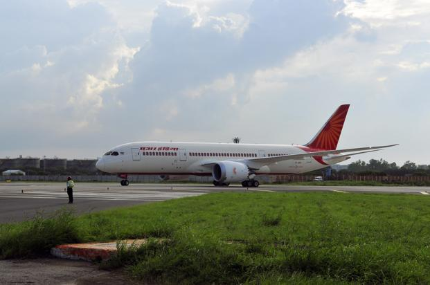 A file photo of a Boeing-787 Dreamliner. Photo: Ramesh Pathania/Mint