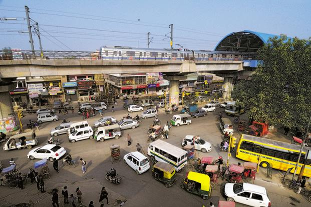 Delhi's Metro rail system provides an obvious opportunity to address shortcoming in urban planning and implementation, and adopt a more holistic approach which integrates different modes of transport, as well as different aspects of urban development, including infrastructure and real estate. Photo: Pradeep Gaur/Mint