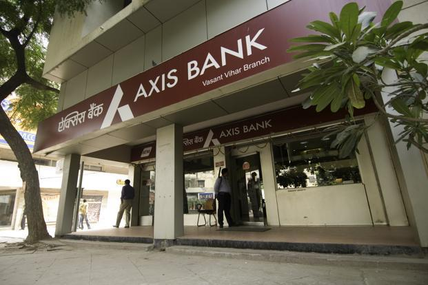 A file photo of an Axis Bank branch in New Delhi. Photo: Mint